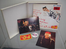 BOY GEORGE 7 INCH SINGLE LTD EDITION UK SOLD BOX SET 1987 Postcards Badge Patch