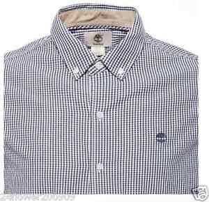 Timberland Men's Long Sleeve Rattle River Gingham Shirt
