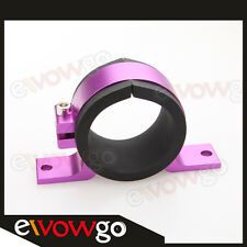 Bosch 044 Fuel Pump Bracket Anodised Single Billet Filter Clamp Cradle Purple