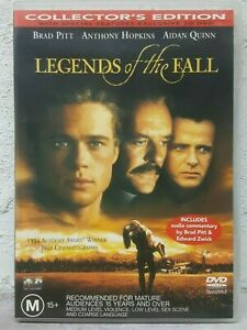 LEGENDS OF THE FALL DVD Brad Pitt, Anthony Hopkins, Aidan Quinn, Julia Ormond