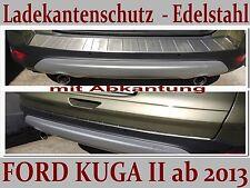 FORD KUGA 2 2013-2016 PROTEZIONE PARAURTI IN ACCIAIO INOX Profilato + labbro CR