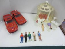 Vintage 1981/1982 Kenner GLAMOUR GALS Wedding Day Playset, Cars & Guy Lot