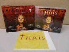 RENEE FLEMING- Massenet Thais 2-CD BOX SET Yves Abel/Thomas Hampson/Sabbatini