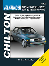Repair Manual Chilton 70400 fits 75-84 VW Rabbit