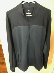 New With Tags- Adidas Men's Large Go-To 1/4 Zip Pullover-MSRP$90!