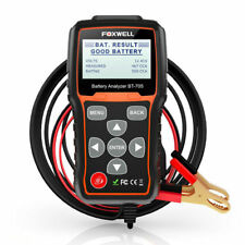 Auto 12V 24V Car Battery Load Tester Charging System Tester Scan Tools FOXWELL