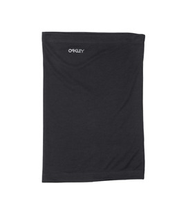 New Oakley Hydrolix Neck Gaiter Face Cover Mask Shield Blackout Black L/XL