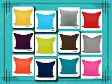 "Best Quality Plain Dyed 100% Cotton Cushion Cover Size 16"" x 16""(40x40cm)"