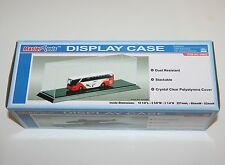 Trumpeter caso de exhibición (257 X 66 X 82mm) para ferrocarril modelo escala 1:87 vehículo &