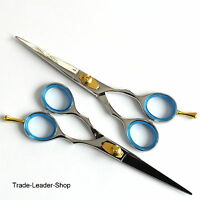 2x Hair Scissors Set Coiffeur style shears Salon Barber Cutting Hairdress 6""