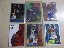 lot 6 Kevin Garnett 1995-96 rookie cards & more RC Brooklyn Nets Boston Celtics