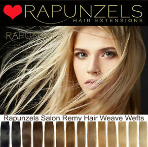 "Rapunzels UK Hair weft DIY clip in full head 110grams in 16"", 20"" 24"" length"