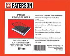 Paterson Pro Photographic Proof Printer For All 35mm Films : PTP619