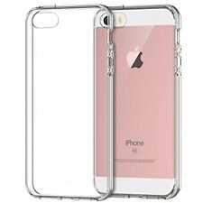iPhone SE Case Cover Shock-Absorption Bumper Clear Back for iPhone 5s 5