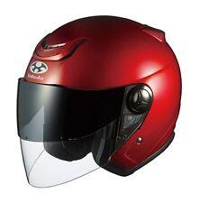OGK KABUTO AFFIDJ Shiny RED L Large  Helmet Japanese Model