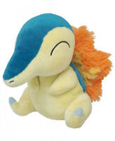 Official Pokemon Cyndaquil Plush Toy SANEI Pocket Monster Doll Gift
