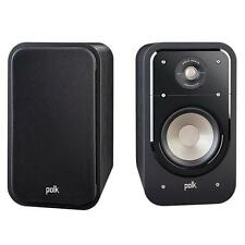 Polk S20 2-Way Surround Speakers Black (Sold as Pair)