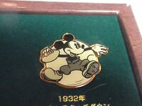 DISNEY JAPAN DAI ICHI LIFE TOUCHDOWN MICKEY FOOTBALL PIN FROM MICKEY 3 PIN SET
