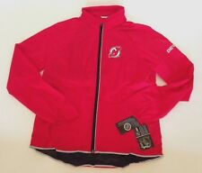 G-III For Her New Jersey Devils NHL Womens Light Weight Full Zip Jacket Red L