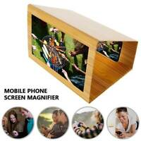 12 inch 3D Mobile Phone Screen Magnifier Video Amplifier Smartphone Stand Holder