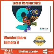 Wondershare Filmora 9.5 MAC & WINDOWS Best Video Editor 4K HD Lifetime License