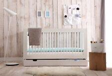 Babybett Kinderbett Juniorbett Basic mit Schublade 70 x 140 cm PINIO
