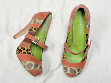 Cindy Says Mary Jane style heel   Multi Color  Size 7