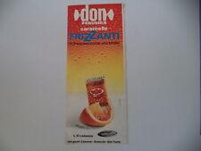 advertising Pubblicità 1969 CARAMELLE PERUGINA DON FRIZZANTI