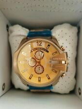 Diesel Mega Chief DZ4360 Mens GOLD TONE Quartz Watch NEW!