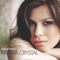 Heartfelt, Karina Crystal CD New & Sealed. Free Postage