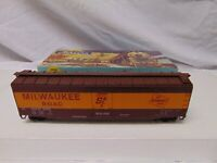 Vintage Athearn train HO Scale 1620 Milwaukee Mechanical Reefer in box USA 7""