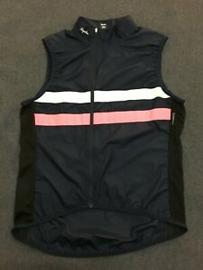 Rapha Cycling Wind Vest Brevet Gilet / Mens Large L Blue
