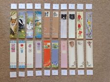 BOOKMARKS Any 40 School Teacher Gift Variety Designs Flowers Animals Funny Kids