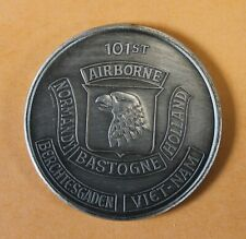 101st Airborne Division Vietnam Silver Toned version Army Challenge Coin