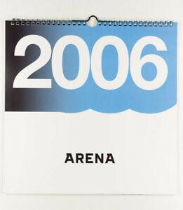 TERA PATRICK JESSICA ALBA HEIDI KLUM BILLIE PIPER Arena magazine calendar 2006