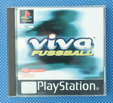 Viva Fussball (Sony PlayStation 1, 1999, Keep Case)