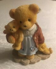 """Cherished Teddies Irene """"time leads us back to the things we love the most"""" 1998"""