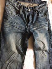 """Men's Dsquared Jeans Waist 30-31"""" Inside Leg 32"""" Rise 9.5"""""""