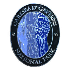 Carlsbad Caverns National Park Walking Hiking Stick Medallion - New Mexico
