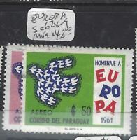 PARAGUAY  (P2505B)  EUROPA  SC 628-9   MOG