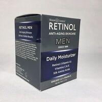 Skincare Cosmetics Retinol Anti-Aging Skincare Daily Moisturizer for Men 1.7 oz