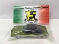 Keystone Diecast Carnival Event Car Greenlight 1971 Pontiac GTO