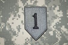 VELCRO ® Military Patch US Army 1st Infantry Division ACU Authentic Perfect Cond