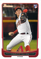 (25) 2012 Bowman Draft Baseball #1 Trevor Bauer RC Rookie 25 Card Lot CY YOUNG