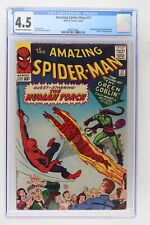 Amazing Spider-Man #17 - Marvel 1964 CGC 4.5 2nd Appearance of the Green Goblin.