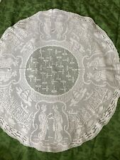 More details for antique mary card oriental ladies tablecloth - pattern no 54