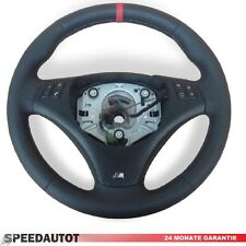 Leather Steering Wheel BMW M-POWER E90, E91 with Cover