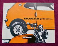Honda Z 600 Coupe Kleinwagen bubble car 1972 Prospekt brochure 4S. Selten