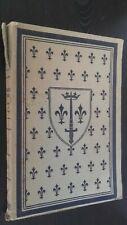 JEANNE D'ARC CHARLES-EMILE MONTET ORNE DE 80 DESSINS 1909 BROCHE