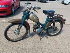 1960 cimatti anni 50cc moped classic barn find pedal and pop